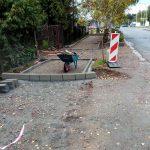 Remont chodnika przy ul. Krakowskiej